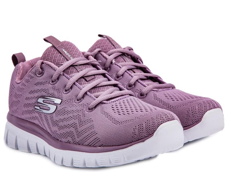 849edde2 Купить кроссовки Skechers модель KW20419 цвет фиолетовый за 22 990 тг